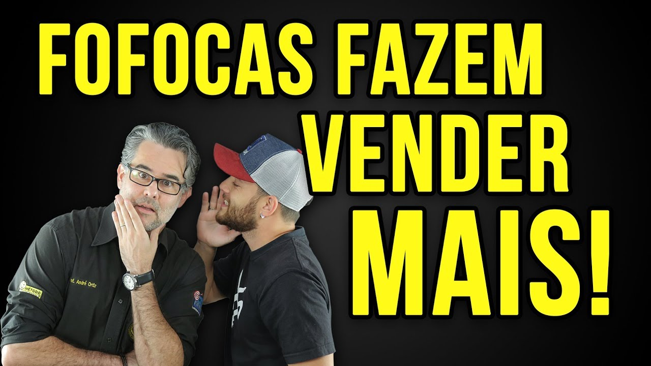 0eb1f0cf757  43 Cliente Fofoqueiro faz Você Vender Mais !Palestra Motivacional em  Vendas André Ortiz PhD Vendas